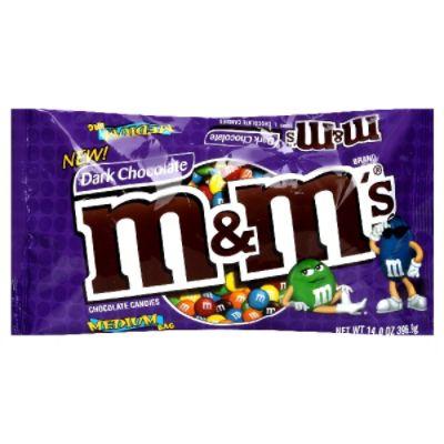 M&M's Dark Chocolate Candies