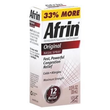 Health & Beauty Afrin 12hr Nasal Spray .5oz 111
