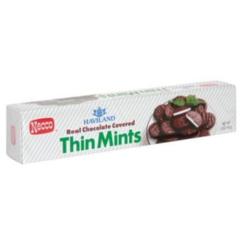 Haviland Haviland Thin Mints, Real Chocolate Covered, 5 oz (141 g) - HAVILAND CANDY, INC.