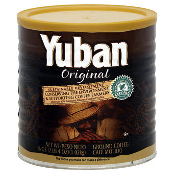 Yuban Coffee, Ground, Original, 36 oz (2 lbs 4 oz) 1.02 kg