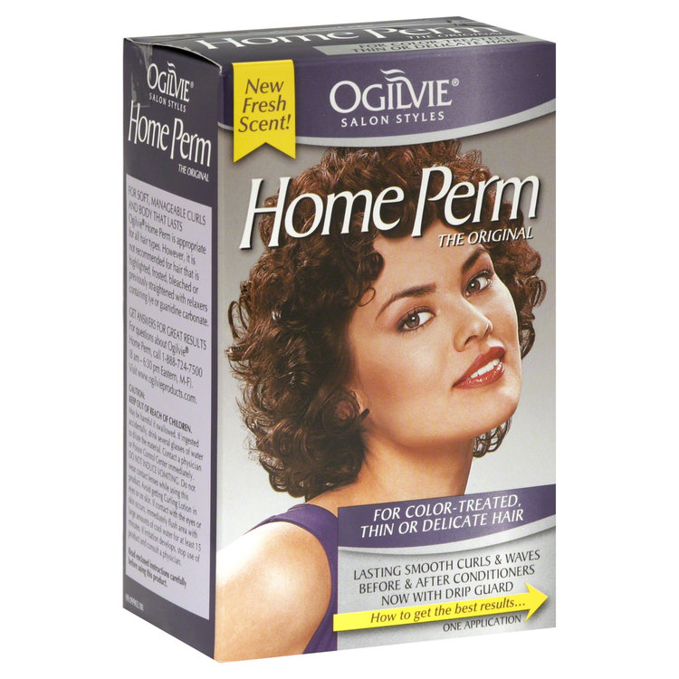 Ogilvie Home Perm For Color Treated Hair 1 Each Reviews