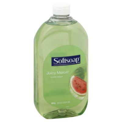 Softsoap Hand Soap, Refill, Juicy Melon, 40 fl oz (1.25 qt) 1.18 lt - SOFTSOAP ENTERPRISES INC.