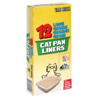 Van Ness Plastic Molding Cat Pan Liners 12 Pack Large - L-2