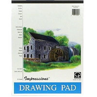 Carolina Pad Impressions Drawing Pad, 25 Sheets, 1 each - CAROLINA PAD & PAPER COMPANY