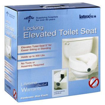Medline Raised Toilet Seats Locking - Seat, Toilet, Locking, Elevated