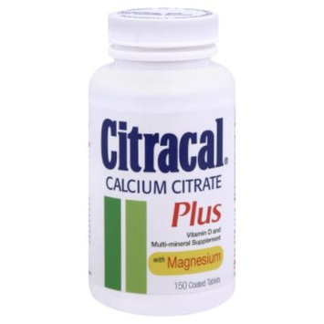 Citracal Plus Calcium Citrate, 150 tablets - MISSION PHARMACAL COMPANY