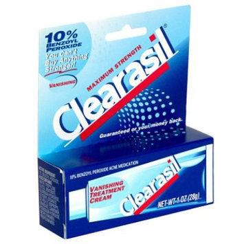 Clearasil Vanishing Treatment Acne Medication Cream, Maximum Strength, 1 oz (28 g) - RICHARDSON-VICKS INC.