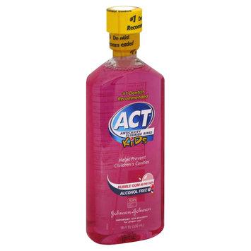 Johnson & Johnson Reach Act Kids Anticavity Fluoride Mouthwash - 18 oz