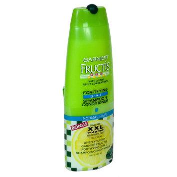 Fructis Fortifying 2 In 1 Shampoo + Conditioner, Normal Hair, 13 fl oz (384 ml) - GARNIER INC.