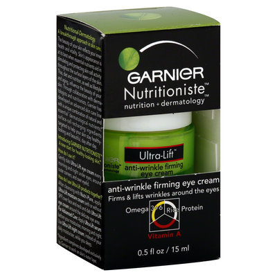 Garnier Nutritioniste Ultra Lift Eye Cream, 0.5-Ounces