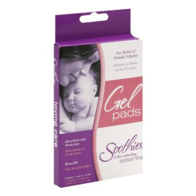 Soothies® Glycerin Gel Pads for Nursing Comfort (Package of 2)