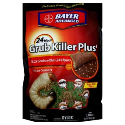 Bayer Advanced Lawn 24 Hour Grub Control, 15 lbs (6.8 kg) - BAYER-PURSELL, LLC