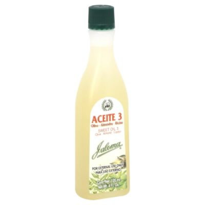Jaloma Sweet Oil 3, 4 fl oz (120 ml)