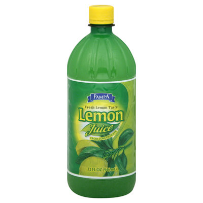 Pampa Lemon Juice, 32 fl oz (946 ml)