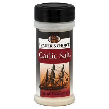 Trader's Choice Garlic Salt, 4.25 oz (121 g) - SPECIALTY BRANDS, INC.