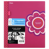 Mead Products Five Star Advance Notebook, College Ruled, 2 Subject, 120 Sheets, 1 notebook