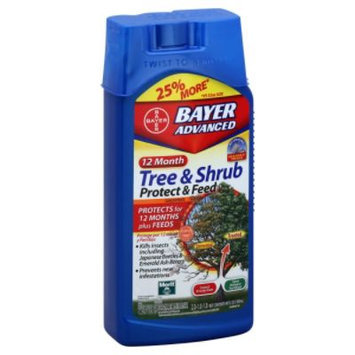 Bayer Advanced Protect & Feed Concentrate, Tree & Shrub, 40 fl oz (1183 ml)