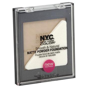 Nyc N.Y.C. SMOOTH & NATURAL MATTE POWDER FOUNDATION #731U URBAN LIGHT