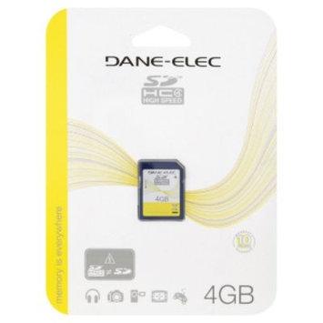 Dane Electronics Dane-Elec SD Card, HC 4 High Speed, 4GB, 1 card