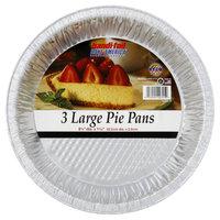Handi-foil Large Foil Pie Pans, 9 inch 3 per package