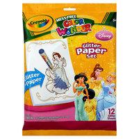 Crayola Color Wonder® Glitter Paper - Disney Princess
