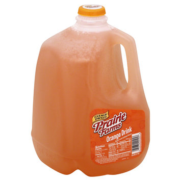 Prairie Farms Dairy, Inc. Drink, Orange, 1 gl (3.78 lt)