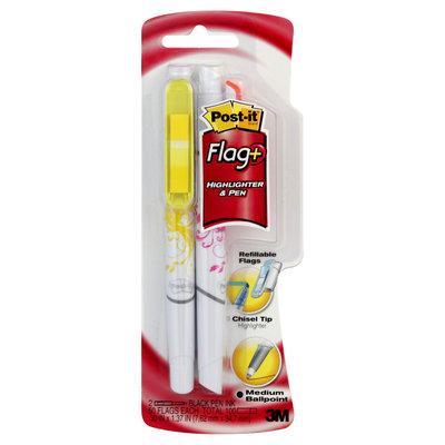 3M 691HLP2 Post-it Flag Pen & Highlighter Set