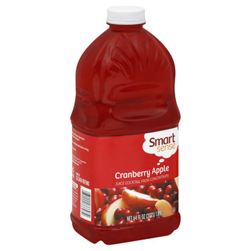 Smart Sense Juice Cocktail, Cranberry Apple, 64 fl oz (2 qt) 1.89 lt - KMART CORPORATION