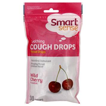 Kmart Corporation Smart Sense Cough Drops, Soothing, Wild Cherry 30 drops