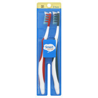 Smart Sense Toothbrushes, Regular, Soft, 2 Pack, 2 toothbrushes - KMART CORPORATION