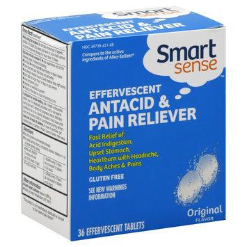 Kmart Corporation Antacid & Pain Reliever, Effervescent, Original Flavor, Tablets, 36 tablets