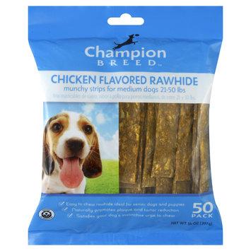 Kmart Corporation Rawhide Strips, Medium Dogs, Chicken Flavored, 50 pack [14 oz (397 g)]