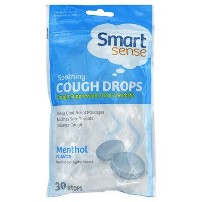Kmart Corporation Cough Drops, Soothing, Menthol, 30 drops