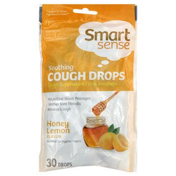 Kmart Corporation Smart Sense Cough Drops, Soothing, Honey Lemon 30 drops