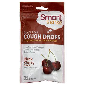 Kmart Corporation Cough Drops, Sugar Free, Black Cherry, 25 drops