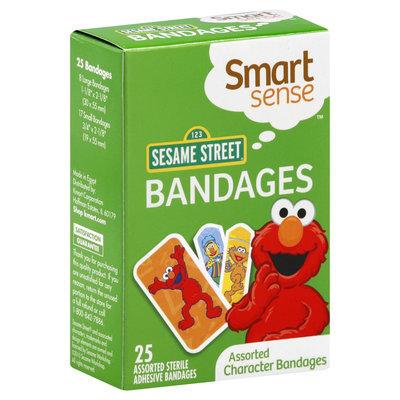 Kmart Corporation Smart Sense Bandages, Assorted Character, 123 Sesame Street 25 bandages