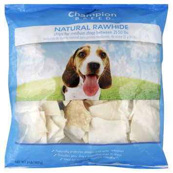 Kmart Corporation Rawhide Chips, Medium Dogs, Natural, 2 lb (907 g)