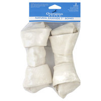 Champion Breed Rawhide Bone, Natural, 7 Inch, 2 pack - KMART CORPORATION