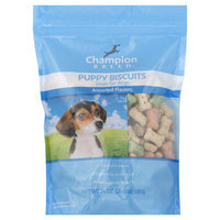 Champion Breed Treats for Dogs, Puppy Biscuits, Assorted Flavors, 24 oz (1 lb 8 oz) 680 g - KMART CORPORATION