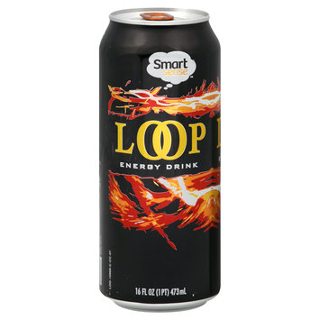 Smart Sense Loop Energy Drink, 16 fl oz (1 pt) 473 ml - KMART CORPORATION