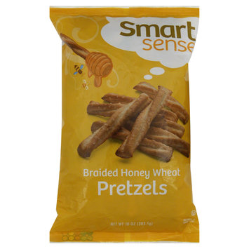 Smart Sense Pretzels, Braided Honey Wheat, 10 oz (283.5 g) - KMART CORPORATION