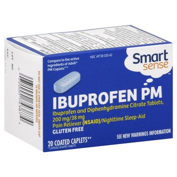 Smart Sense Ibuprofen PM, 200 mg/38 mg, Caplets, 20 caplets - KMART CORPORATION