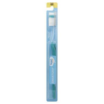 Kmart Corporation Smart Grip Toothbrush, Regular, Soft, 1 toothbrush