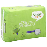 Kmart Corporation Underwear, Protective, Women's, Maximum Absorbency, Large, 16 pair