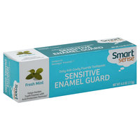 Smart Sense Toothpaste, Fluoride, Daily Anti-Cavity, Sensitive Enamel Guard, Fresh Mint, 4 oz (113 g)