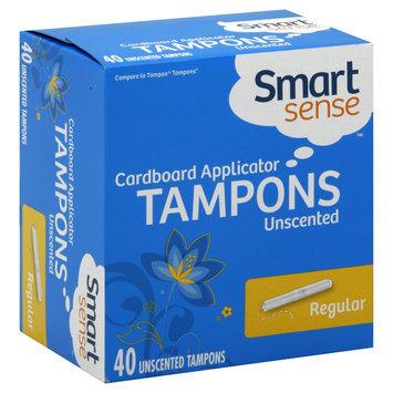 Kmart Corporation Tampons, Cardboard Applicator, Regular, Unscented, 40 tampons