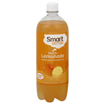 Kmart Corporation Lemonade, Peach, 33.8 fl oz (1 qt 1.8 fl oz) 1 lt