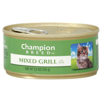 Champion Breed Cat Food, Mixed Grill, 5.5 oz (156 g) - KMART CORPORATION