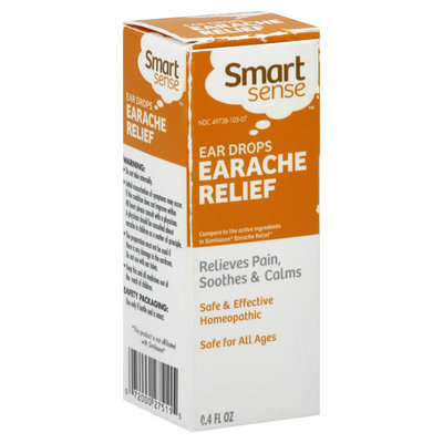 Smart Sense Earache Relief, Ear Drops, 4 fl oz - KMART CORPORATION