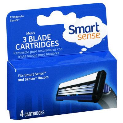 Kmart Corporation Cartridges, 3 Blade, Men's, 4 cartridges